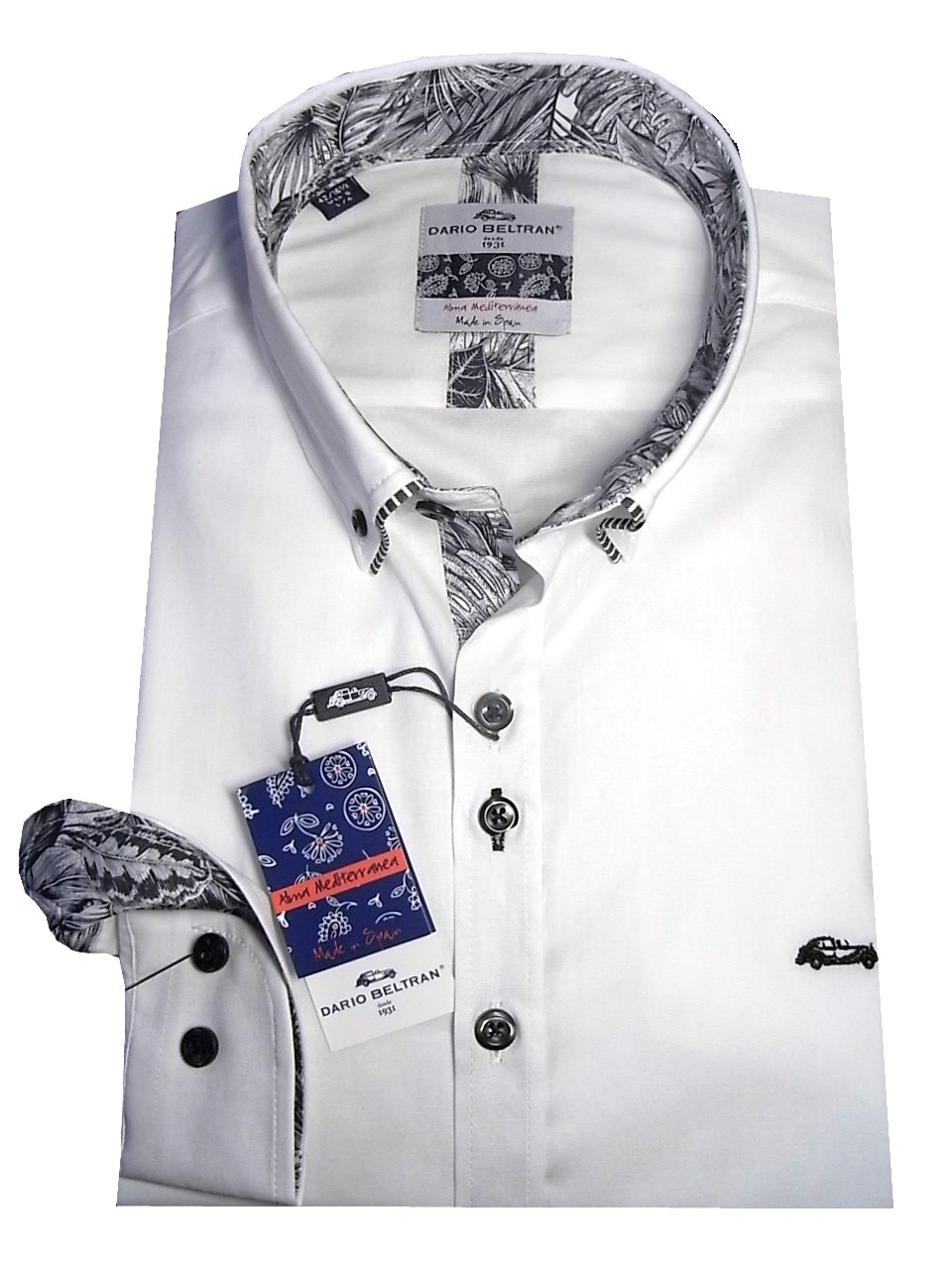 Businesshemd Button Down Kragen Dario Beltran