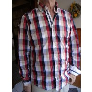 Hemd Button Down Kragen kariert Slim Fit Jupiter